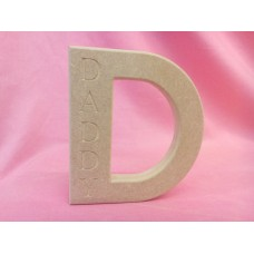 18mm MDF D with Daddy Small